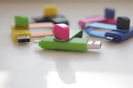 Flash drive USB 2 in 1 for Android 32Gb USB+OTG