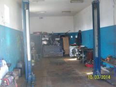 Garage without intermediaries 50kV.m.The lift pit.Long-term rent