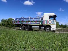 Изготовление рибовозів, водовозов, молоковозов, а также других ав