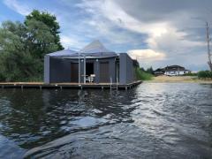 Rent a gazebo on the water Staryy saltiv