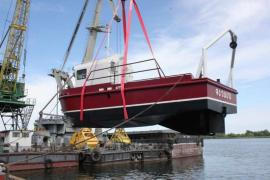 The construction of small tug boats SF9TB