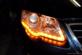 Tuning car optics in the service of SAG Light Design