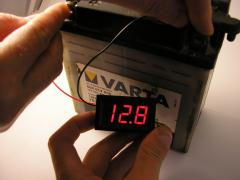 Voltmeter digital DC the 3.2-30v